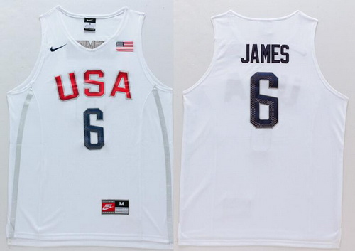 san francisco 1745c a6c60 lebron james usa basketball jersey