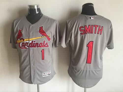 Men's St. Louis Cardinals #13 Matt Carpenter Gray Road 2016 Flexbase Majestic Baseball Jersey
