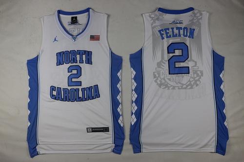 Men's North Carolina Tar Heels #2 Jalek Felton Black Soul Swingman ...