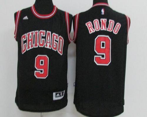 bulls jersey rondo