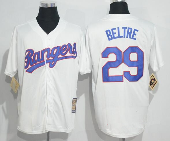 d18e2224 Men's Texas Rangers #29 Adrian Beltre White Home Stitched MLB Majestic Cool  Base Cooperstown Collection