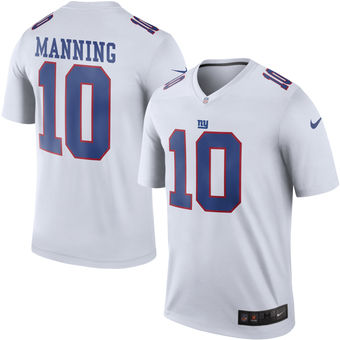 75a42078dac ... promo code for mens new york giants 10 eli manning nike white color rush  legend jersey
