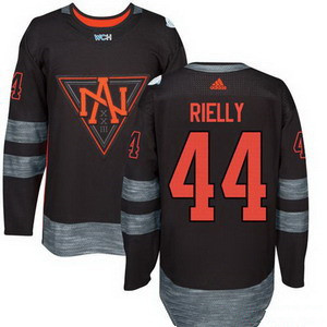Men's North America Hockey #44 Morgan Rielly Black 2016 World Cup of Hockey Stitched adidas WCH Game Jersey