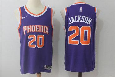 Men's Phoenix Suns #20 Josh Jackson New Purple 2017-2018 Nike Swingman Stitched NBA Jersey