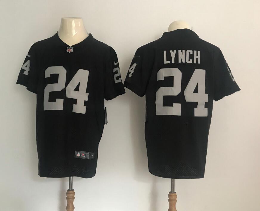 Nike Oakland Raiders #24 Marshawn Lynch Vapor Untouchable Black ...