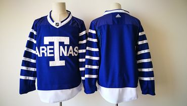 cb96acb64a7 Men's Toronto Maple Leafs Blank Royal Blue Arenas 2017-2018 Hockey Stitched  NHL Jersey