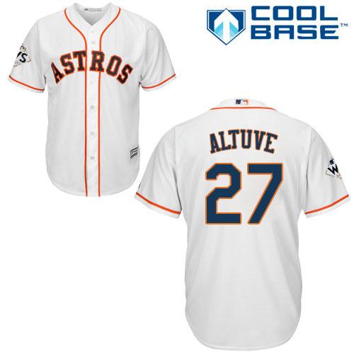 detailed look adda7 5297a Cheap 2017 WS Astros Mens,Replica 2017 WS Astros Mens ...