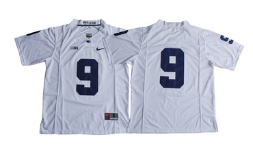 Penn State Nittany Lions 9 Trace McSorley White College Football Jersey