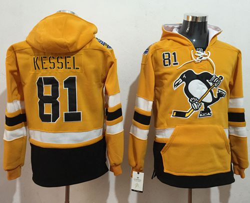 reputable site 4e18b 27076 Penguins #30 Matt Murray Gold Sawyer Hooded Sweatshirt 2017 ...