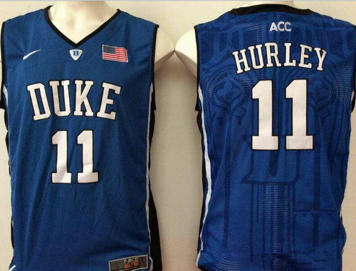 7eec9050bd3 Men s Duke Blue Devils  11 Bobby Hurley Royal Blue College Basketball  Stitched Nike Swingman Jersey