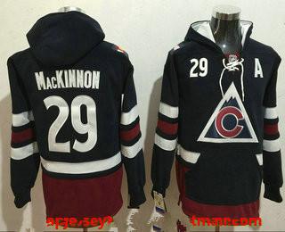 new arrival e1f28 3198e Men's Colorado Avalanche #29 Nathan MacKinnon NEW Navy Blue ...