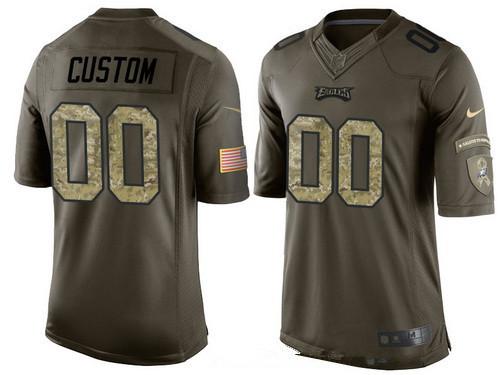 custom eagles jersey