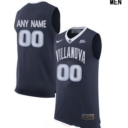 Youth Villanova Wildcats Custom Nike College Basketball Jersey - Navy Blue