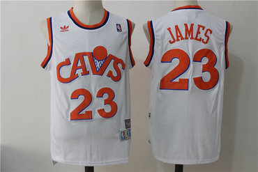 lebron james white cavaliers jersey