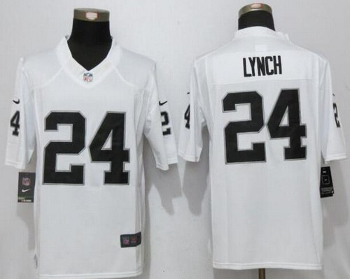Top Nike Raiders #24 Marshawn Lynch Black Men's Stitched NFL Limited  hot sale