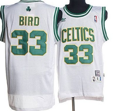 Boston Celtics  33 Larry Bird White Hardwood Classics Soul Swingman  Throwback Jersey f46f719f0