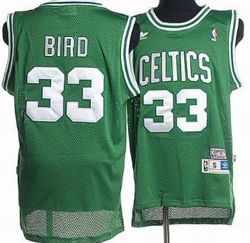 Boston Celtics  33 Larry Bird Green Hardwood Classics Soul Swingman  Throwback Jersey dc19da8af