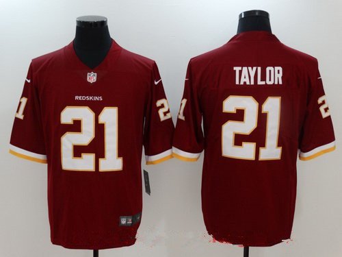 d6f596c2c Women's Washington Redskins #21 Sean Taylor Retired Burgundy Red 2017 Vapor  Untouchable Stitched NFL Nike Limited Jersey