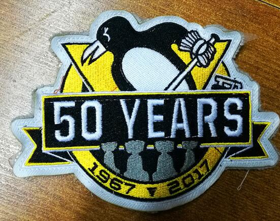 2016 Pittsburgh Penguins 50th Anniversary Patch