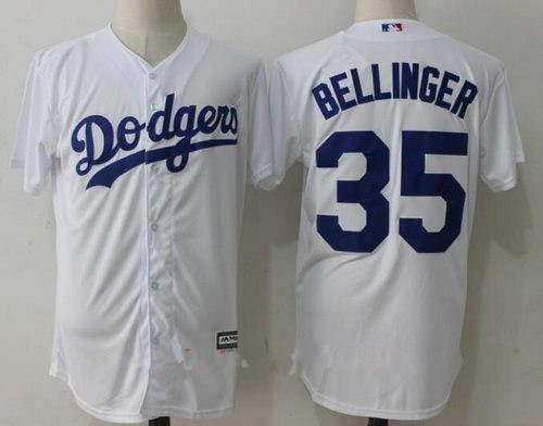 quality design 1b136 13a87 wholesale On Angeles Majestic Sale Mlb 31 Home White for Los ...