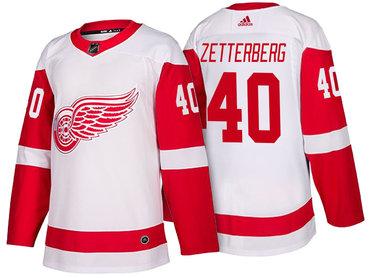 ea463e937dc ... sale mens detroit red wings 40 henrik zetterberg white 2017 2018 adidas  hockey stitched nhl jersey