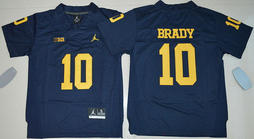 tom brady michigan jersey
