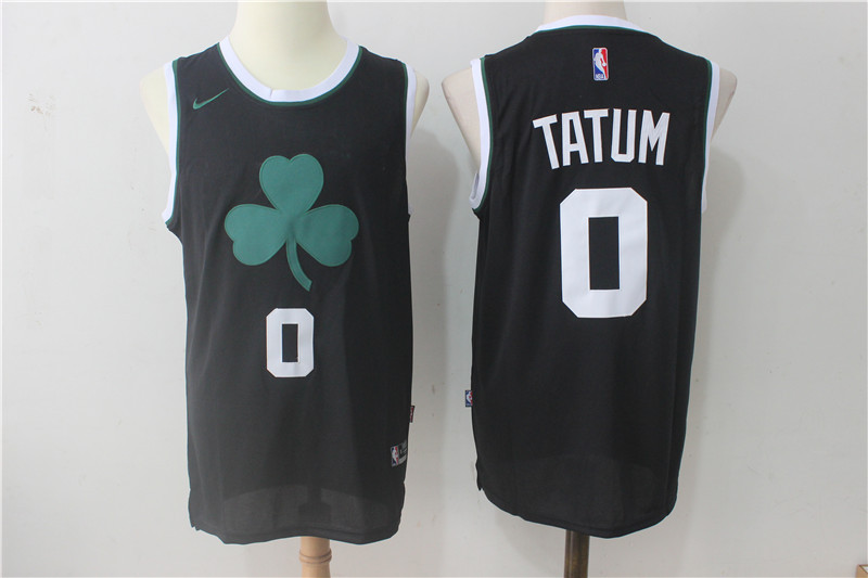 Nike Jayson Boston Nba for wholesale 0 2017-2018 Jersey Celtics Men's Black Stitched Sale On Tatum China Cheap Swingman From