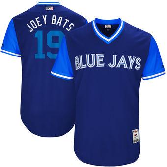 Men's Toronto Blue Jays Jose Bautista Joey Bats Majestic Royal 2017 Players Weekend Authentic Jersey