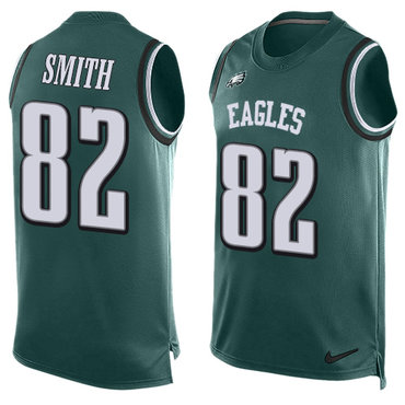 57dcd8d0c79 Nike Philadelphia Eagles #82 Torrey Smith Midnight Green Team Color Men's  Stitched NFL Limited Tank Top Jersey