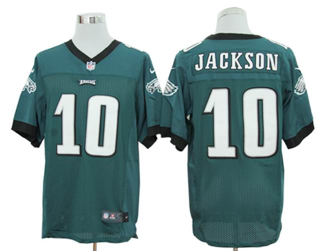 Size 60 4XL-DeSean Jackson Philadelphia Eagles #10 Green Stitched Nike Elite NFL Jerseys