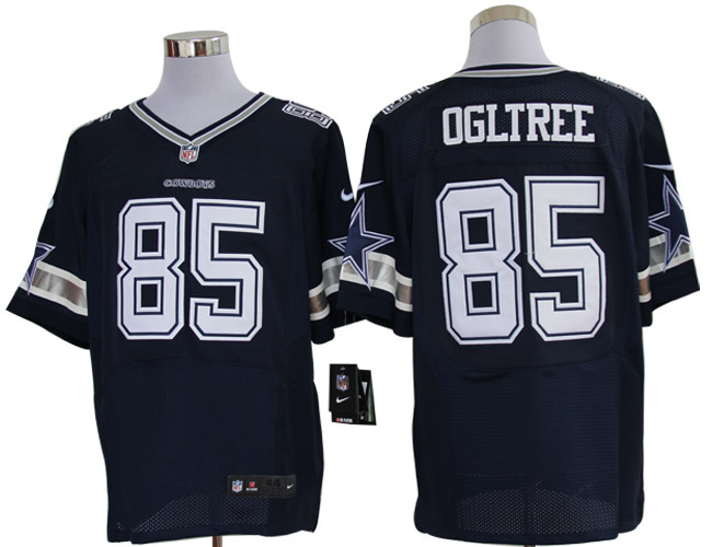 Size 60 4XL-Kevin Ogletree Dallas Cowboys #85 Navy Blue Stitched Nike Elite NFL Jerseys
