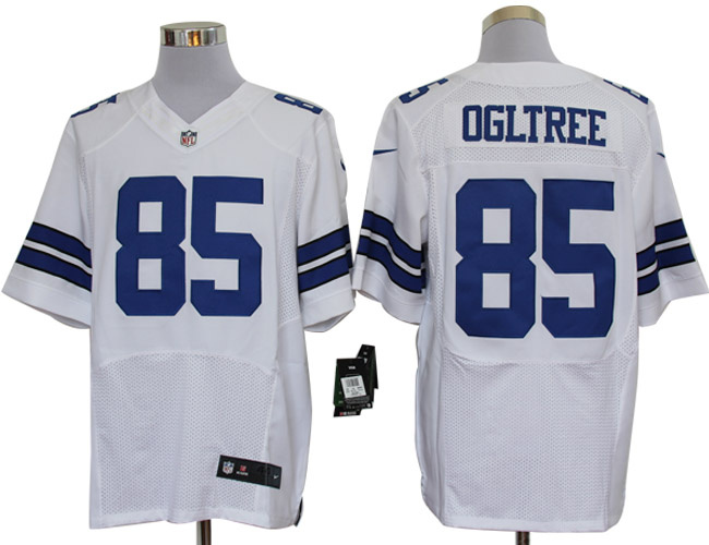 7b414447f Size 60 4XL-Kevin Ogletree Dallas Cowboys #85 White Stitched Nike Elite NFL  Jerseys