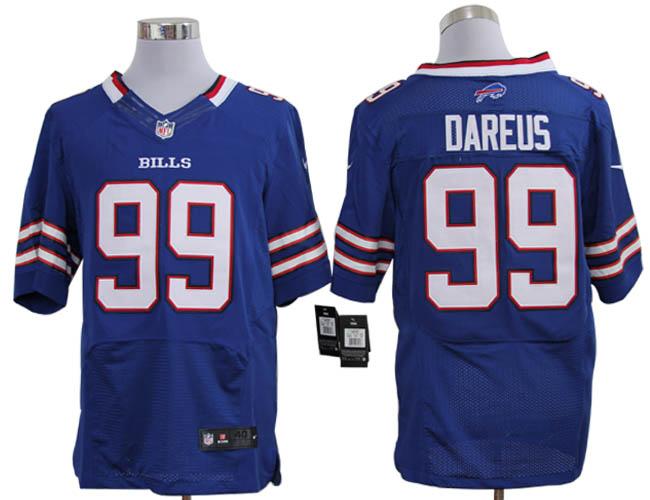 Size 60 4XL-Marcell Dareus Buffalo Bills #99 Royal Blue Stitched ...