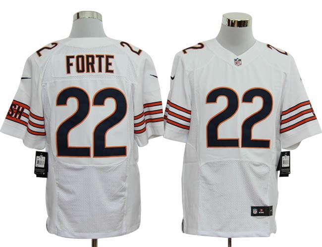 Size 60 4XL-Matt Forte Chicago Bears #22 White Stitched Nike Elite NFL Jerseys