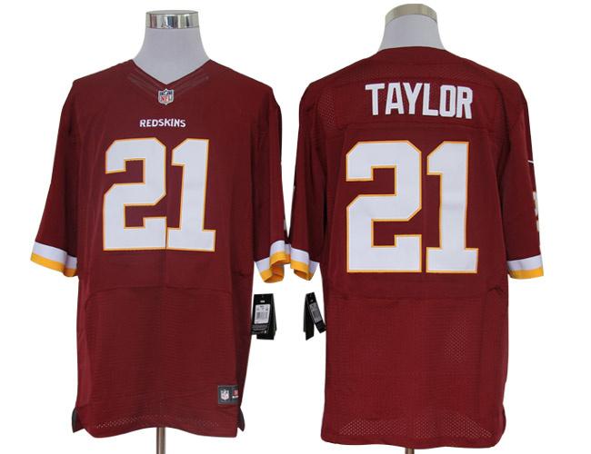 Size 60 4XL-Sean Taylor Washington Redskins #21 Red Stitched Nike Elite NFL Jerseys