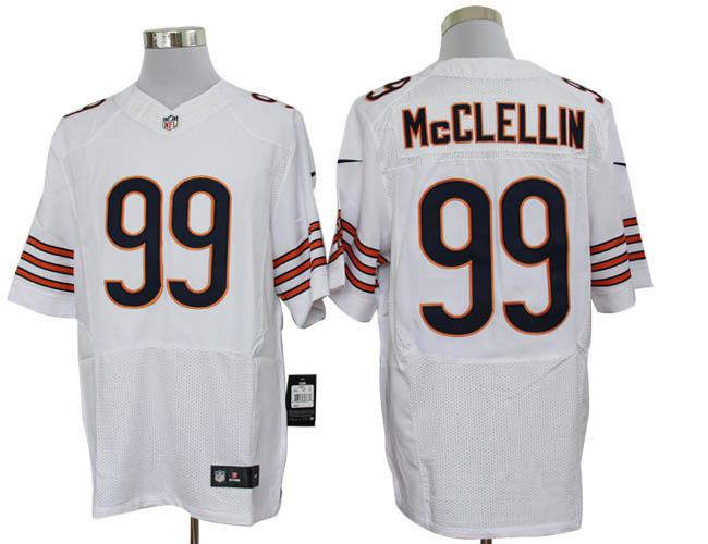 Size 60 4XL-Shea McClellin Chicago Bears #99 White Stitched Nike Elite NFL Jerseys