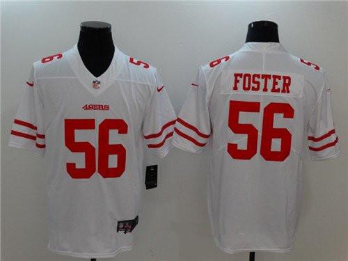 7c4a80f56f4 Men s San Francisco 49ers  56 Reuben Foster White 2017 Vapor Untouchable  Stitched NFL Nike Limited