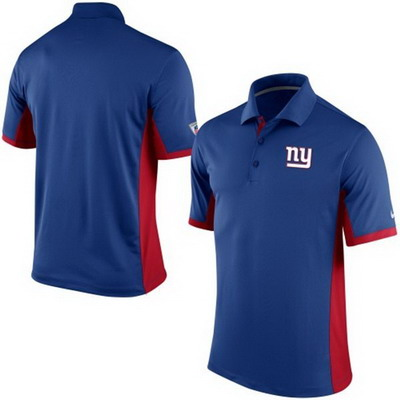 Men's New York Giants Nike Royal Team Issue Performance Polo