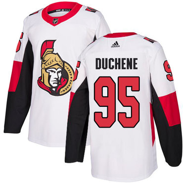Adidas Men's Ottawa Senators #95 Matt Duchene Authentic White Away NHL Jersey