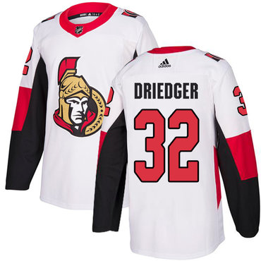 Adidas Men's Ottawa Senators #32 Chris Driedger Authentic White Away NHL Jersey