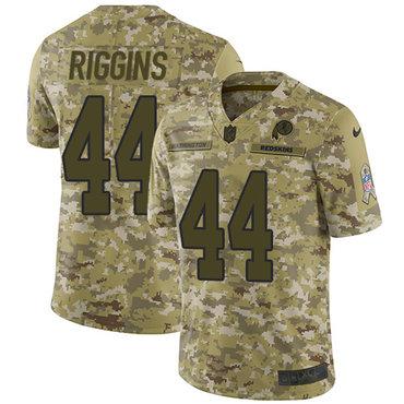 Nike Redskins #44 John Riggins Camo Men\'s Stitched NFL Limited 2018 Salute To Service Jersey