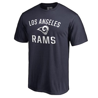 Men's Los Angeles Rams NFL Pro Line by Fanatics Branded Navy Big & Tall Victory Arch Logo T-Shirt