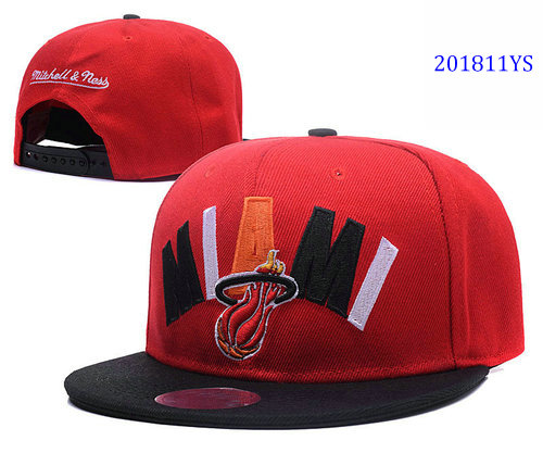 Miami Heat YS hats fcf9a4de