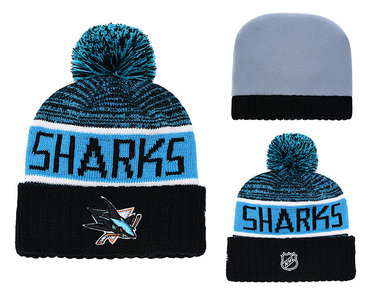 NHL SAN JOSE SHARKS Beanies