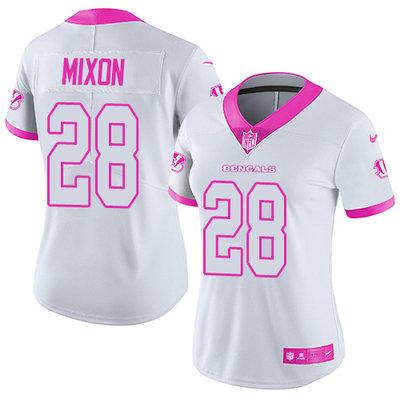 white joe mixon jersey