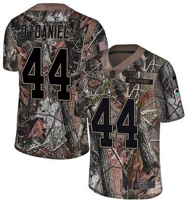 Nike Chiefs #44 Dorian O'Daniel Camo Men's Stitched NFL Limited Rush Realtree Jersey