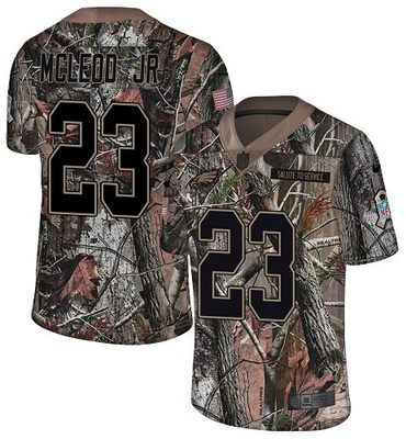 Nike Eagles #23 Rodney McLeod Jr Camo Men's Stitched NFL Limited Rush Realtree Jersey