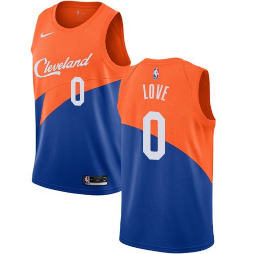 037dc070395 Men's Nike Cavaliers #0 Kevin Love Blue NBA Swingman City Edition 2018-19  Jersey