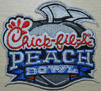 2017 NCAA College Football Chick-Fil-A Peach Bowl Patch