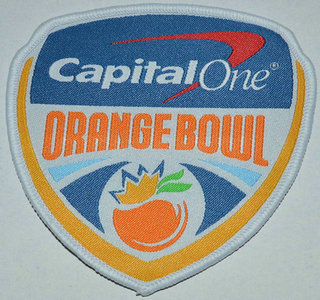 2016 NCAA College Football Orange Bowl Patch